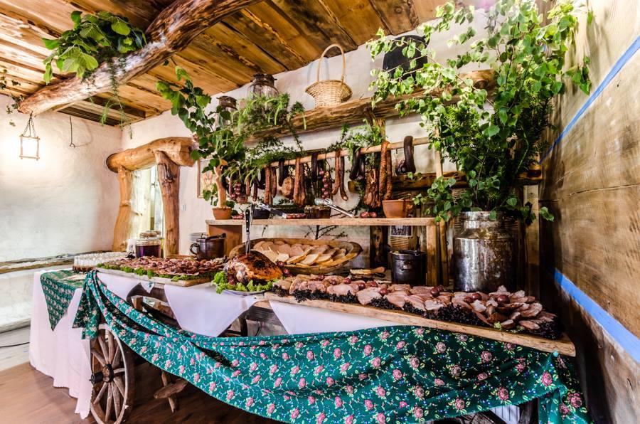 wesela stół wiejski 12