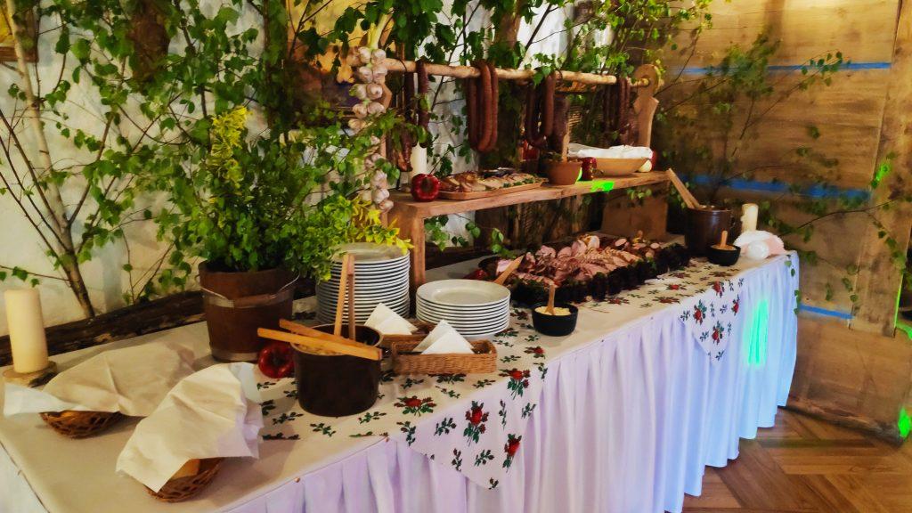 wesela stół wiejski 11