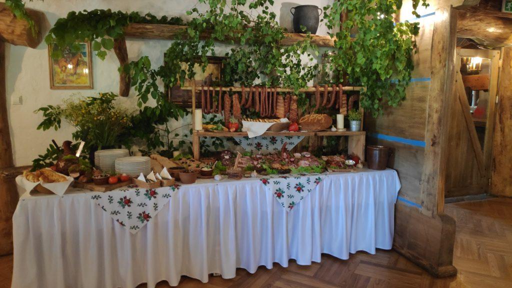 wesela stół wiejski 5