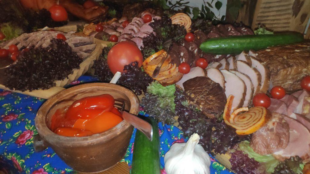 wesela stół wiejski 2